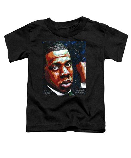 I Am Jay Z Toddler T-Shirt by Maria Arango