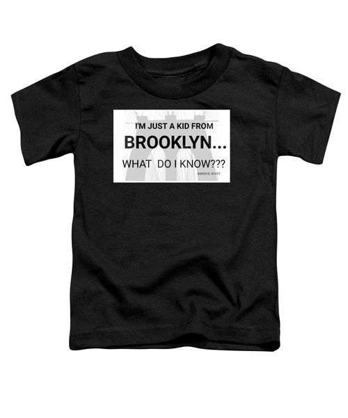 I'm Just A Kid... Toddler T-Shirt by Pat Odom