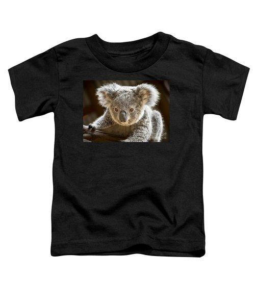 Koala Kid Toddler T-Shirt by Jamie Pham
