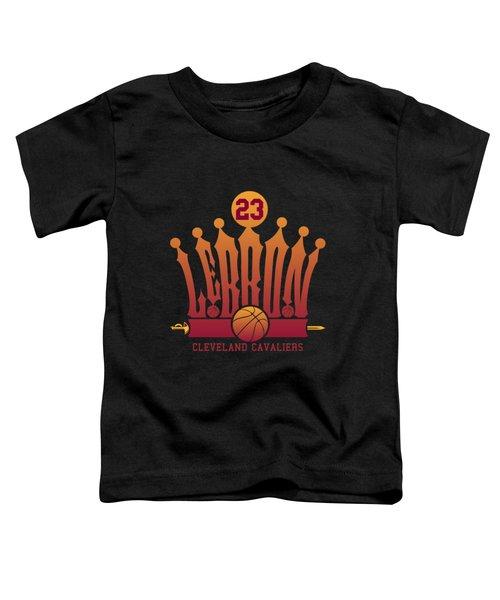 Lebroncrown Toddler T-Shirt by Augen Baratbate
