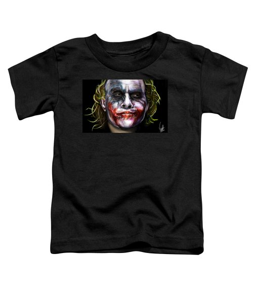 Let's Put A Smile On That Face Toddler T-Shirt by Vinny John Usuriello