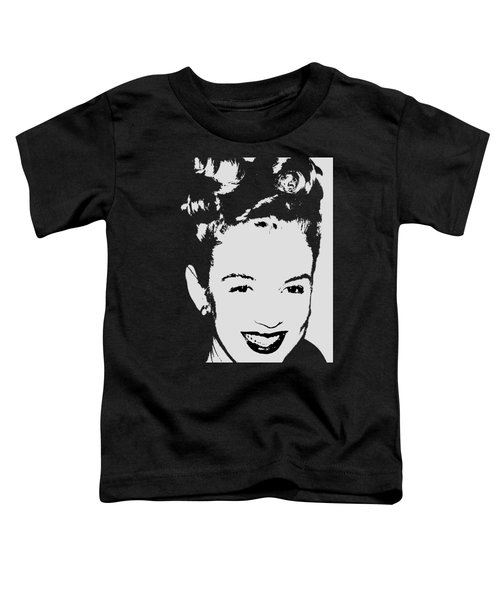 Marilyn Toddler T-Shirt by Joann Vitali