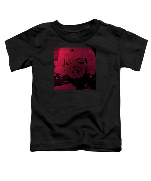 Marilyn Monroe Toddler T-Shirt by George Randolph Miller