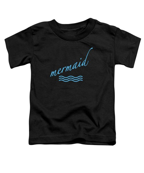 Mermaid Toddler T-Shirt by Bill Owen