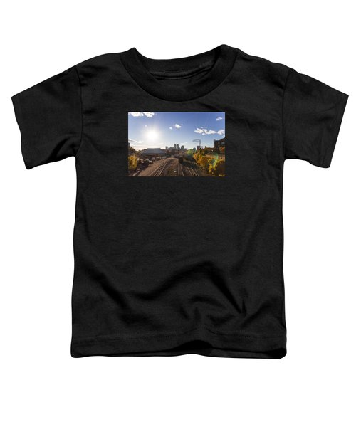 Minneapolis In The Fall Toddler T-Shirt by Zach Sumners