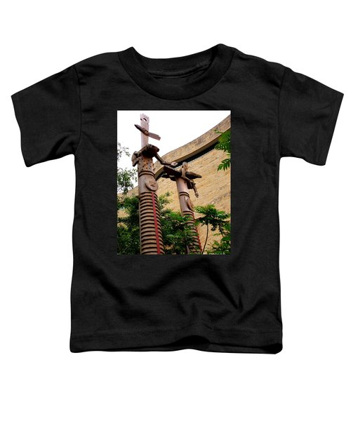 National Museum Of The American Indian 3 Toddler T-Shirt by Randall Weidner