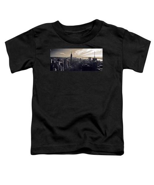 New York Toddler T-Shirt by Dave Bowman