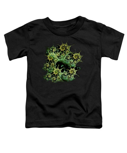 Night Lace Toddler T-Shirt by Anastasiya Malakhova