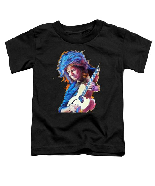 Pat Metheny Toddler T-Shirt by Melanie D