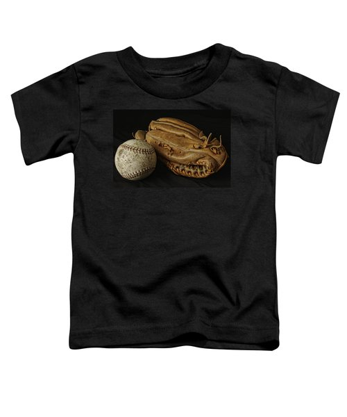 Play Ball Toddler T-Shirt by Richard Rizzo