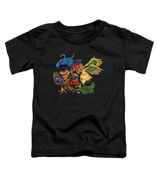 Rawkin' Cawks Toddler T-Shirt by Vicki Von Doom