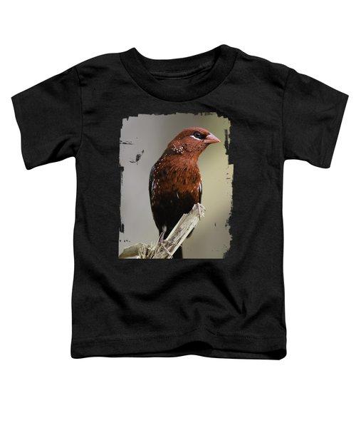 Red - Rojo Toddler T-Shirt by Juan Carlos Ballesteros