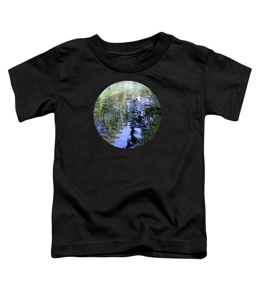 Reflections  Toddler T-Shirt by Mary Wolf