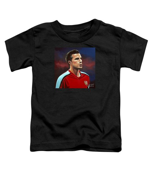 Robin Van Persie Toddler T-Shirt by Paul Meijering