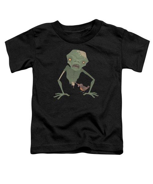 Sickly Zombie Toddler T-Shirt by John Schwegel