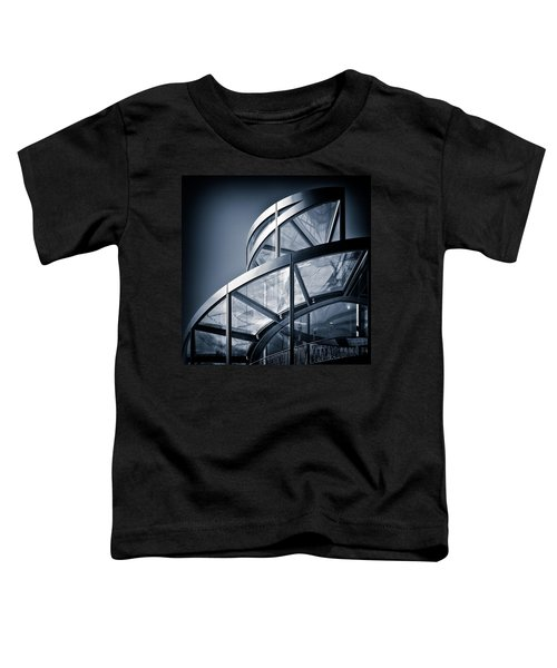 Spiral Staircase Toddler T-Shirt by Dave Bowman