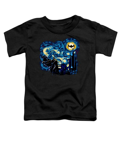Starry Knight Toddler T-Shirt by Three Second