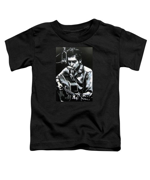 The Answer My Friend Is Blowin In The Wind Toddler T-Shirt by Luis Ludzska