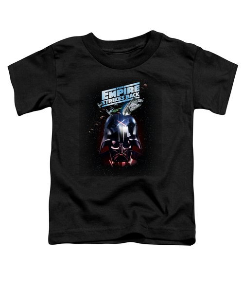 The Empire Strikes Back Toddler T-Shirt by Edward Draganski