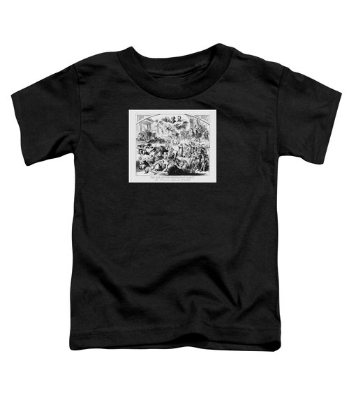The End Of The Republican Party Toddler T-Shirt by War Is Hell Store