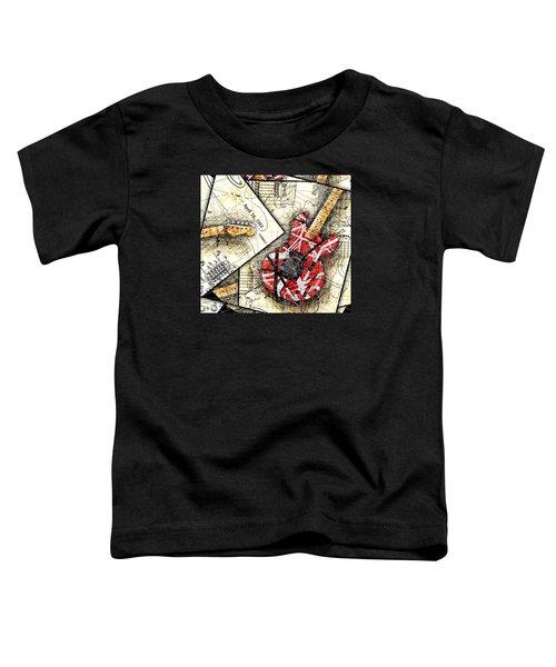 The Frankenstrat Toddler T-Shirt by Gary Bodnar