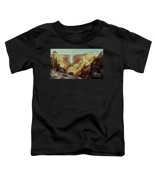 The Grand Canyon Of The Yellowstone Toddler T-Shirt by Thomas Moran
