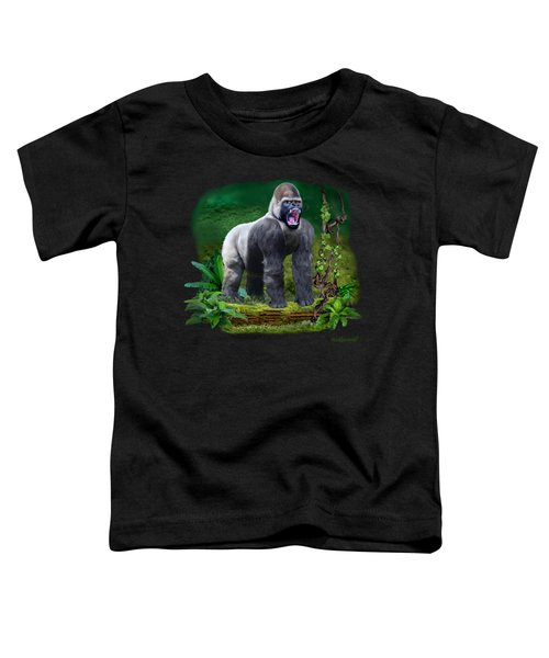 The Guardian Of The Rain Forest Toddler T-Shirt by Glenn Holbrook