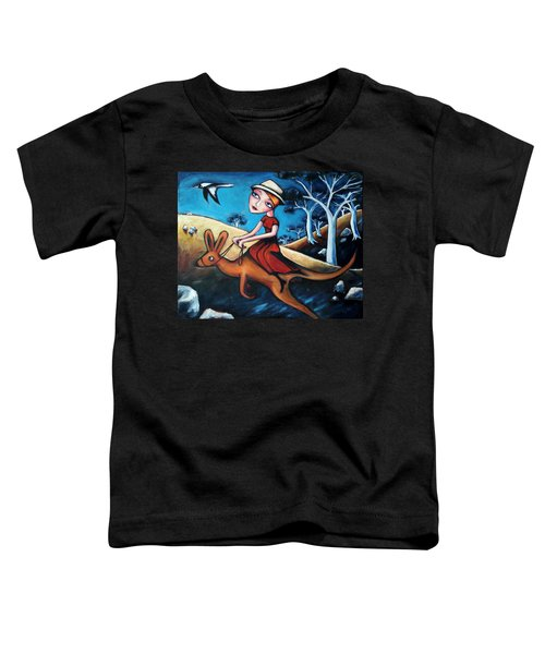 The Journey Woman Toddler T-Shirt by Leanne Wilkes