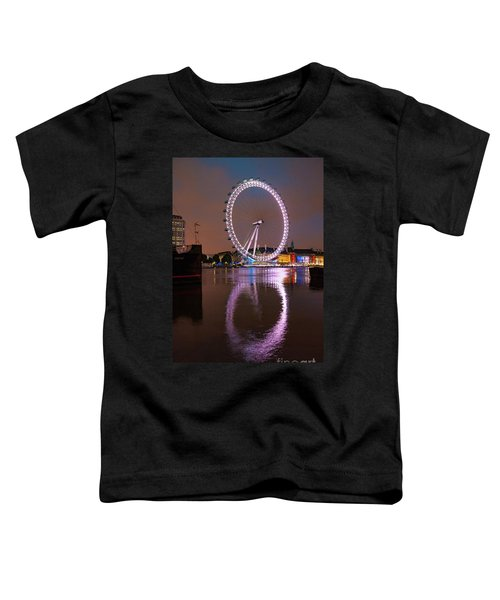 The London Eye Toddler T-Shirt by Stephen Smith