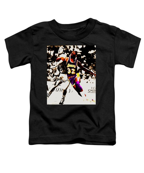 The Rebound Toddler T-Shirt by Brian Reaves