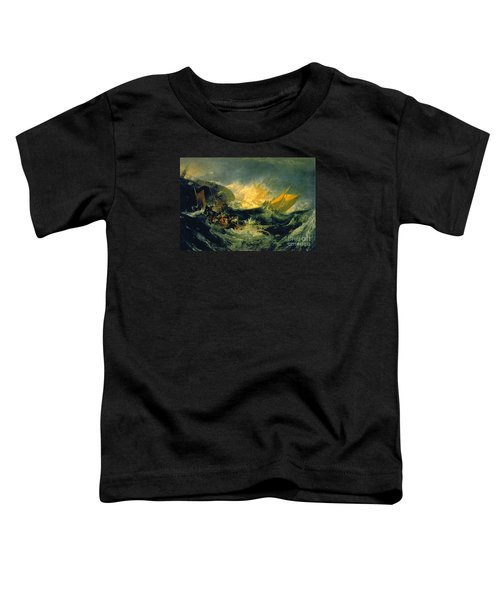 The Shipwreck Of The Minotaur Toddler T-Shirt by MotionAge Designs