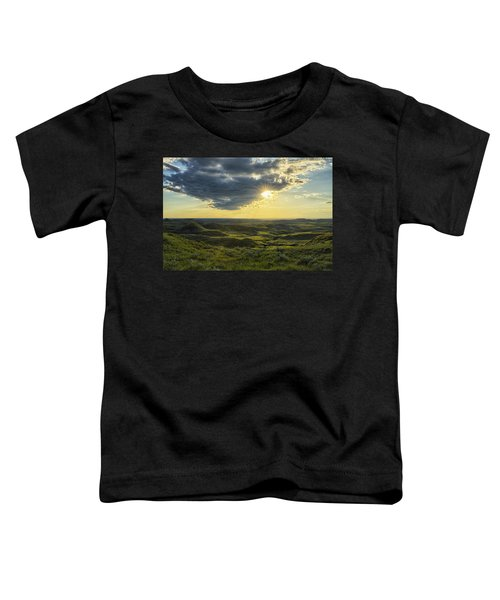 The Sun Shines Through A Cloud Toddler T-Shirt by Robert Postma