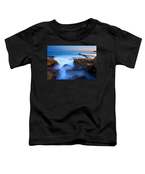 Tidal Bowl Boil Toddler T-Shirt by Mike  Dawson