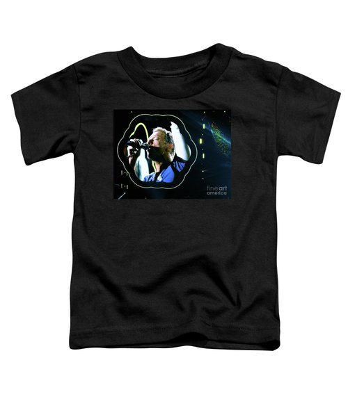 Chris Martin - A Head Full Of Dreams Tour 2016  Toddler T-Shirt by Tanya Filichkin