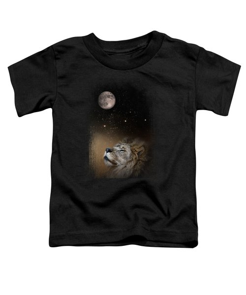 Under The Moon And Stars Toddler T-Shirt by Jai Johnson