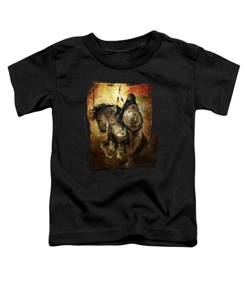 Warrior Toddler T-Shirt by Shanina Conway