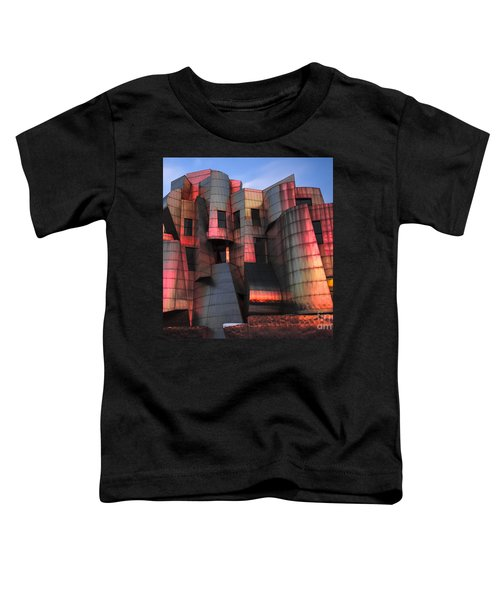 Weisman Art Museum At Sunset Toddler T-Shirt by Craig Hinton