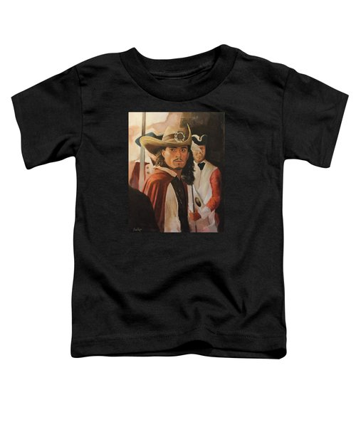 Will Turner Toddler T-Shirt by Caleb Thomas