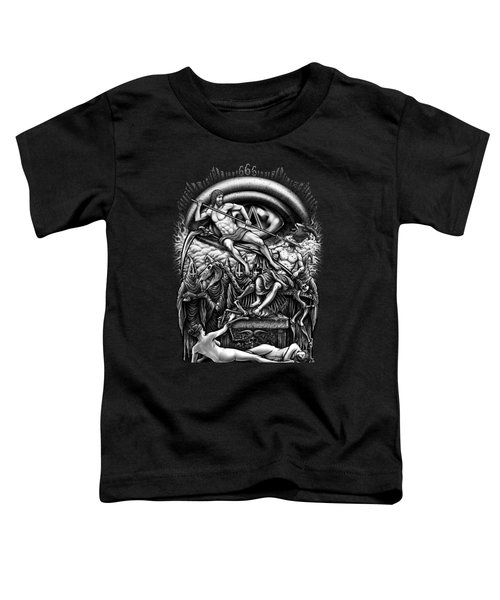 Winya No. 40 Toddler T-Shirt by Winya Sangsorn
