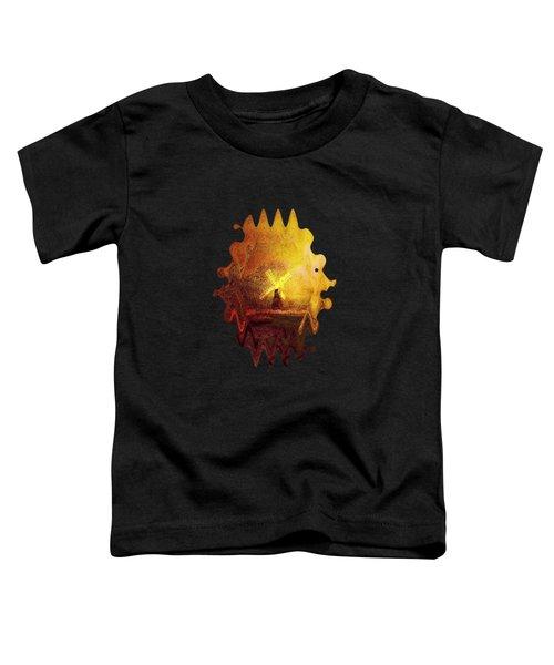 Ye Olde Mill Toddler T-Shirt by Valerie Anne Kelly