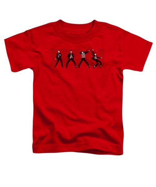 Elvis - Jailhouse Rock Toddler T-Shirt by Brand A