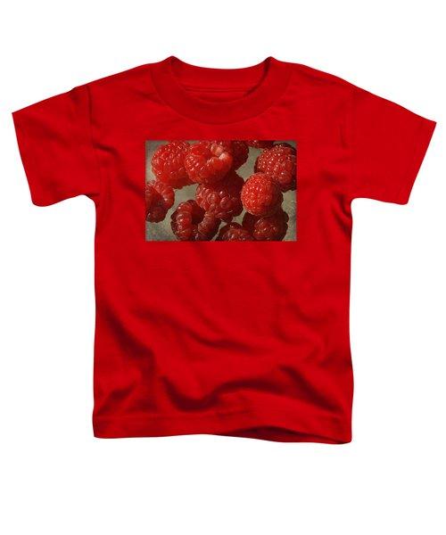 Red Raspberries Toddler T-Shirt by Cindi Ressler