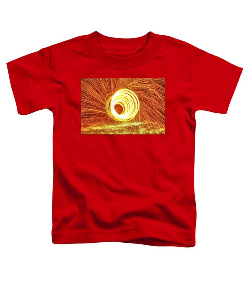 Shooting Sparks Toddler T-Shirt by Dan Sproul