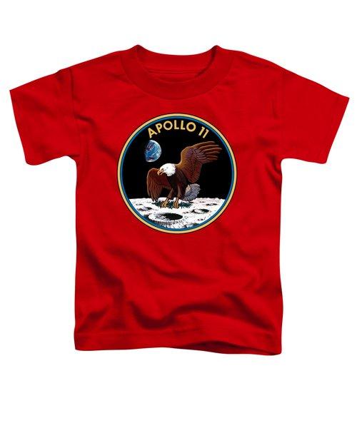 Apollo 11 Toddler T-Shirt by Otis Porritt