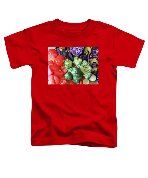 Raw Ingredients Toddler T-Shirt by Tom Gowanlock
