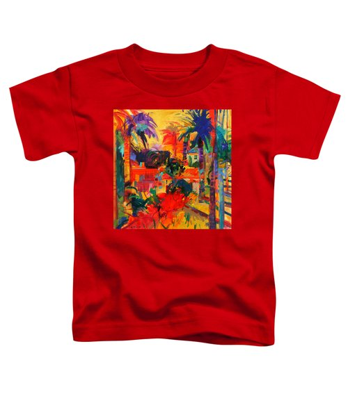 Beverly Hills Toddler T-Shirt by Peter Graham