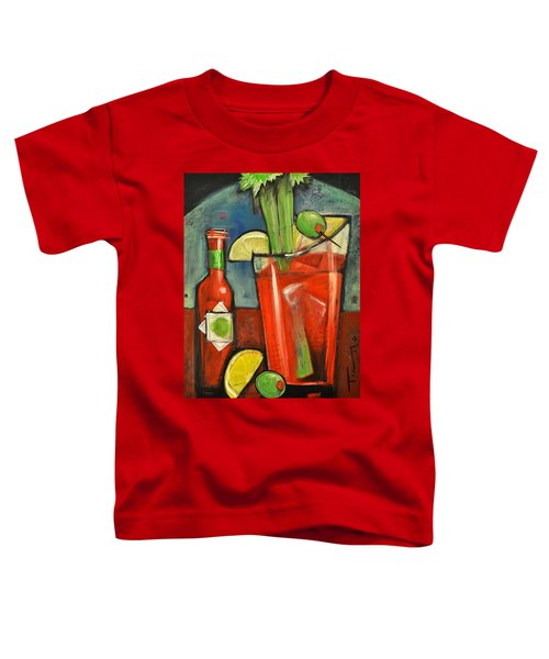 Bloody Mary Toddler T-Shirt by Tim Nyberg