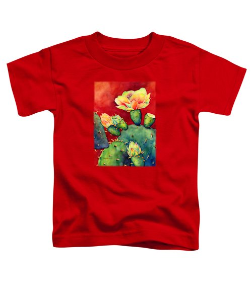 Desert Bloom Toddler T-Shirt by Hailey E Herrera