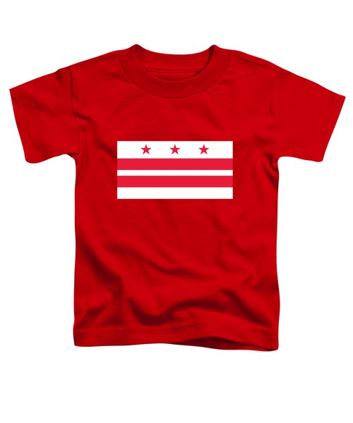 District Of Columbia Toddler T-Shirt by Frederick Holiday