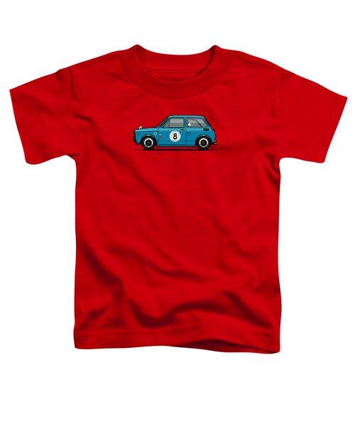 Honda N600 Blue Kei Race Car Toddler T-Shirt by Monkey Crisis On Mars